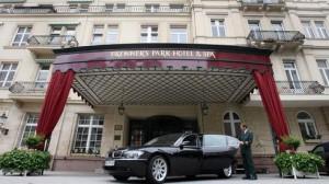 Park-Hotel & Spa in Baden-Baden (Archivfoto vom 01.06.2006 DPA).