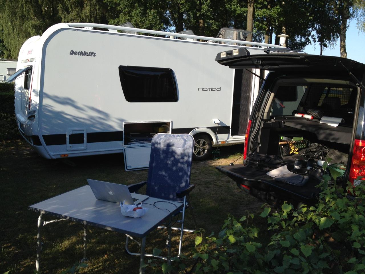 Work at Camping