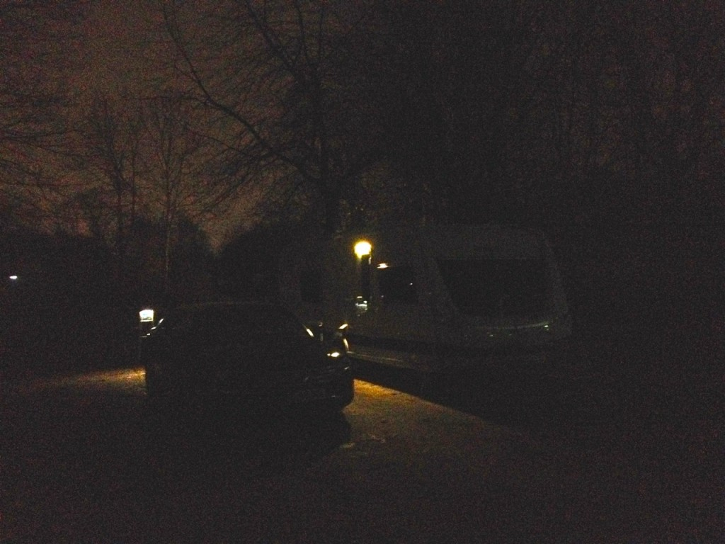 Wischlingen at night
