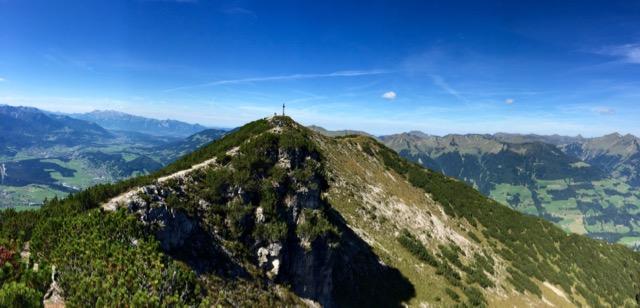 Gipfel Hoher Fraßen